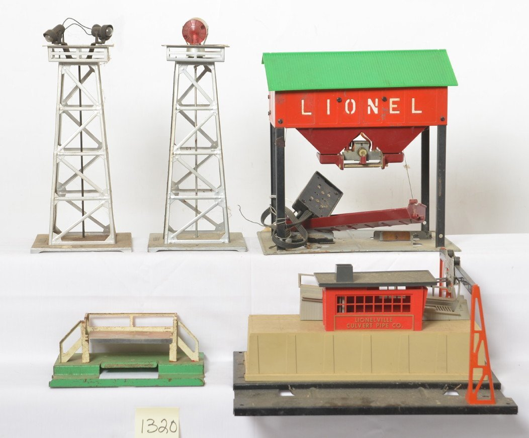Lionel 3462P, 342, 497, 494, 395 accessories