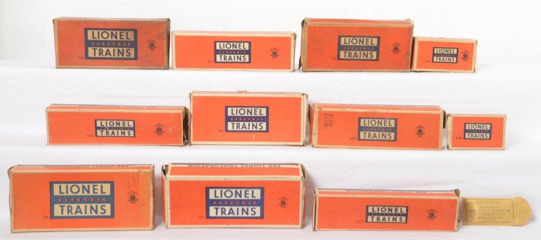 Lionel 151, 153, 154, 154, 214, 252, 252, more in OB