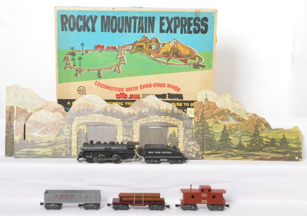 Marx 48-3088M Rocky Mountain Express in OB