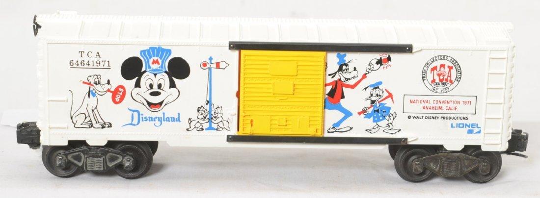 Lionel Disney 6464-1971 TCA boxcar