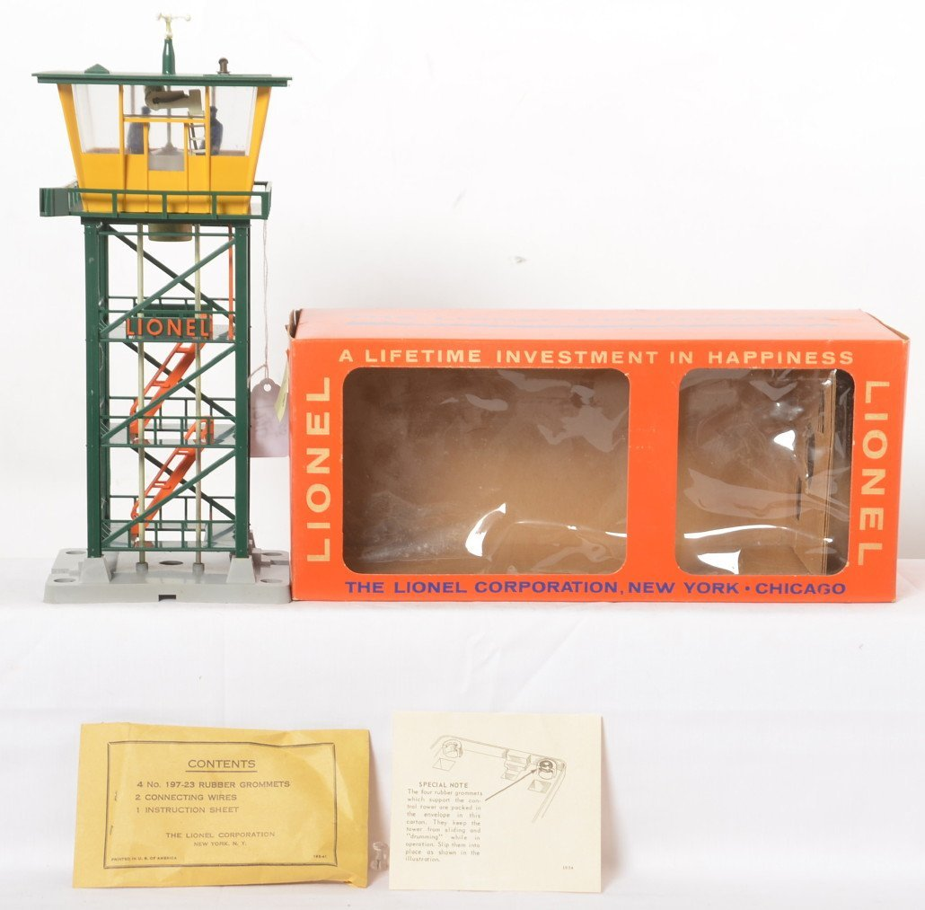 Lionel 192 control tower in OB