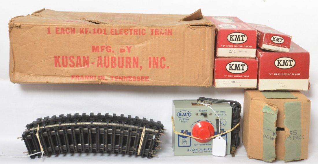 Kusan-Auburn KF-101 electric train set in original box - 2