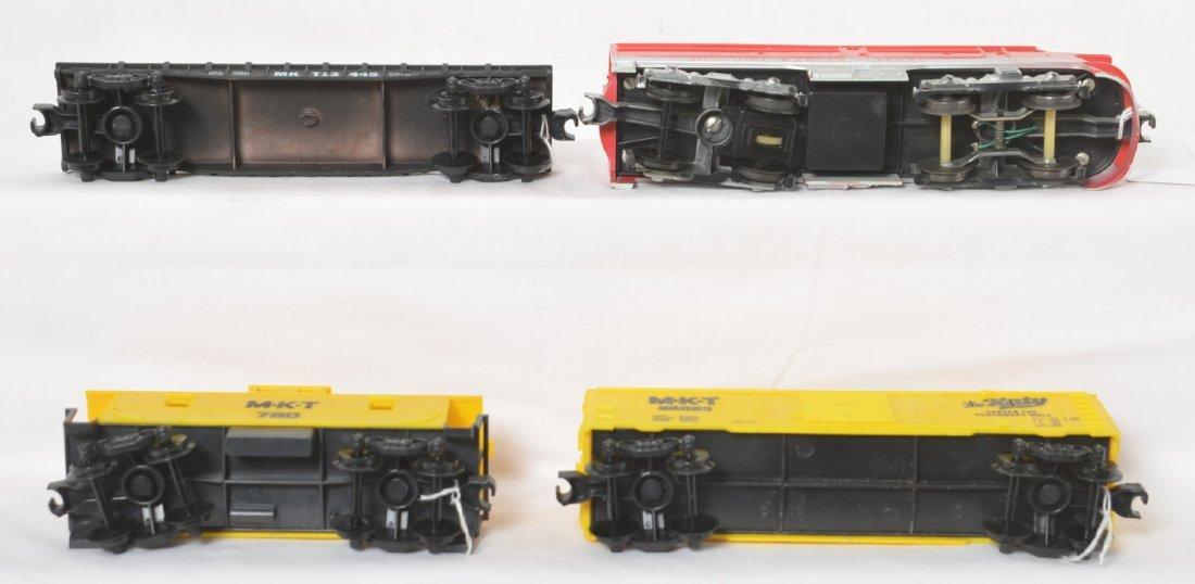Kusan-Auburn KF-101 electric train set in original box - 5