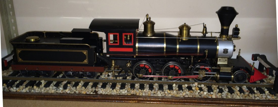 O.S. Models Live steam 3Ó Porter 2-6-0 steam locomotive