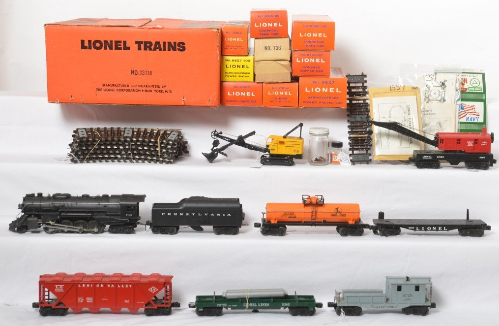Incredible Lionel 13118 boxed 736 Berkshire set
