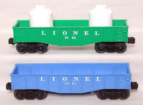 605: Mint Lionel postwar gondolas