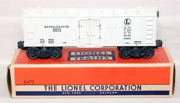 610: Lionel 6472 reefer, mint, OB
