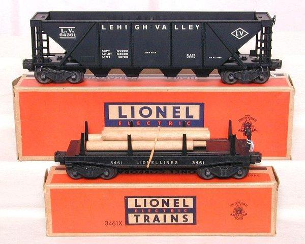 615: Lionel 3461X & 6436-1, OB's