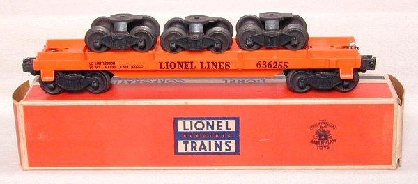 617: Lionel 6362 Rail Truck car, OB