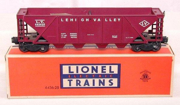 620: Lionel 6436-25 LV hopper, unrun, OB