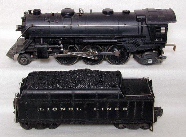 621: Lionel 224E/2224W steam/tender