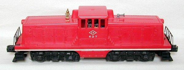 622: Lionel 627 LV center cab
