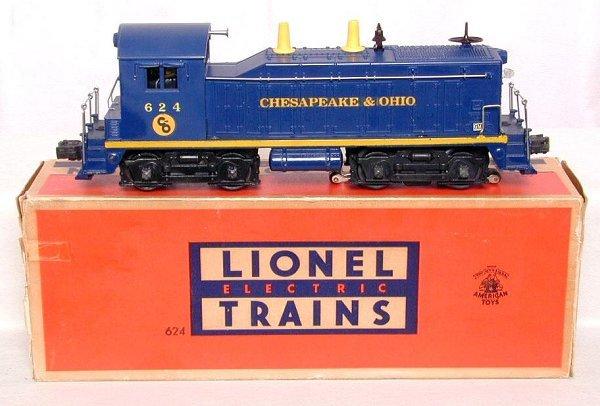 689: Lionel 624 C&O switcher in OB