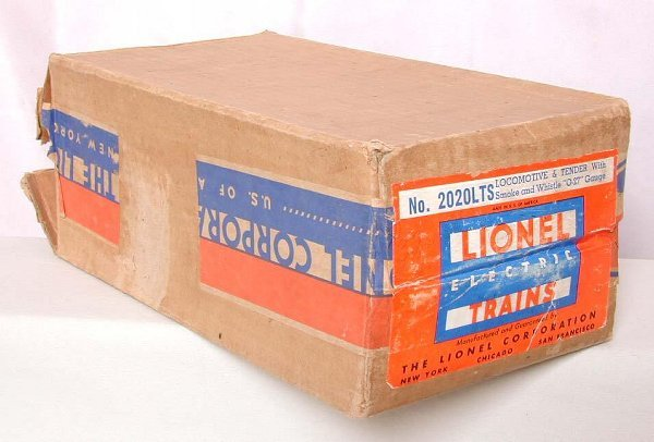 853: Lionel 2020LTS master carton only!