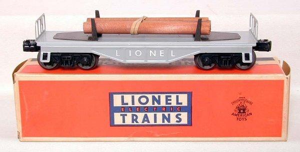 854: Mint Lionel 6111-110 flat, OB