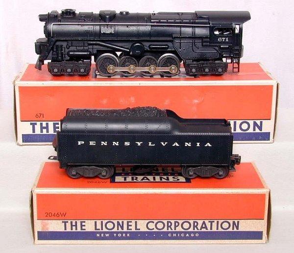856: Nice Lionel 671/2046W turbine, OB's