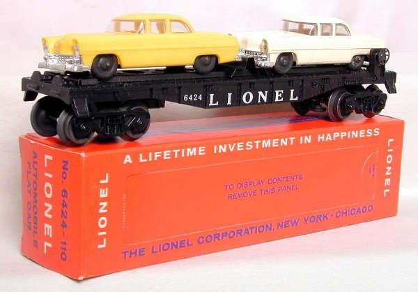 858: Lionel 6424 on 6805 mold, perf OB