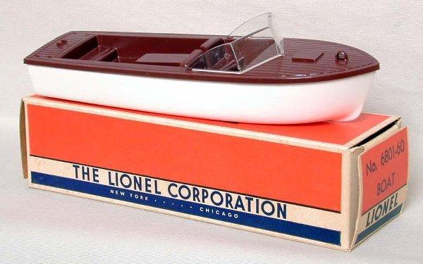 860: Lionel 6801-60 separate sale boat, OB