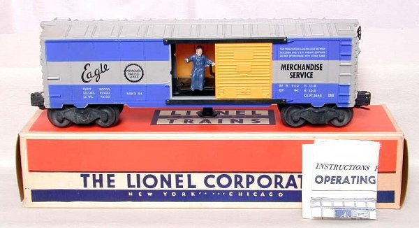 862: Mint Lionel 3494 MP boxcar, OB