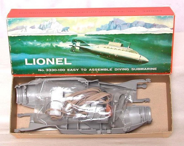 864: Mint Lionel 3330-100 sub kit in OB