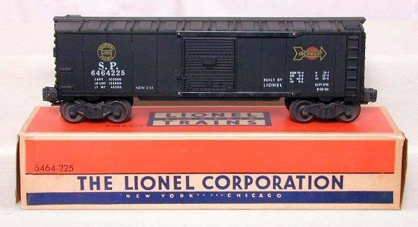 866: Mint Lionel 6464-225 SP boxcar, OB