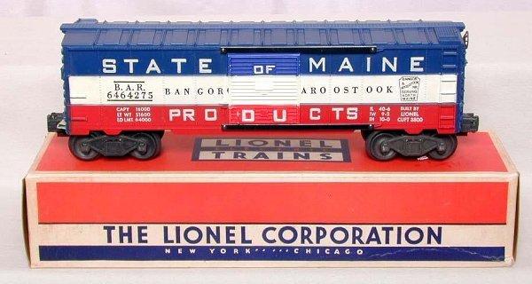 869: Mint Lionel 6464-275 BAR boxcar, OB