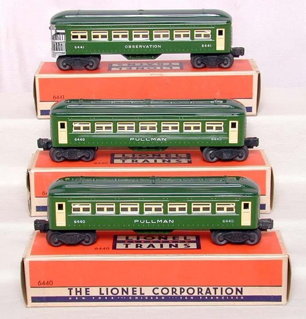 870: Mint Lionel 6440 & 6441 in OB's