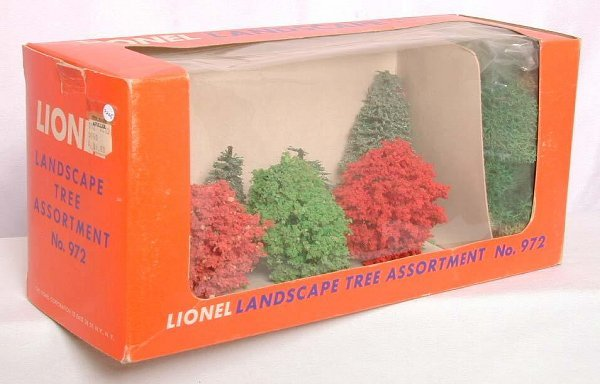 871: Lionel 972 landscape tree assort. in OB