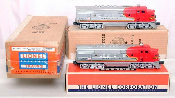 968: Incredible Lionel 2333 SF's, OB MC