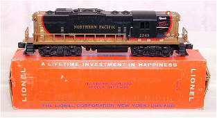 1002: Mint Lionel 2349 Northern Pacific, OB