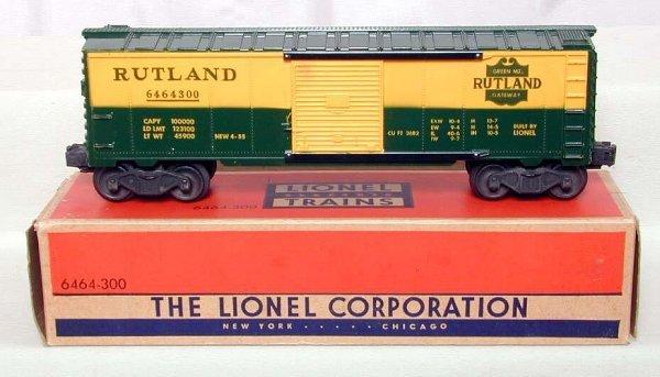 1069: Mint Lionel 6464-300 Solid Shield, OB