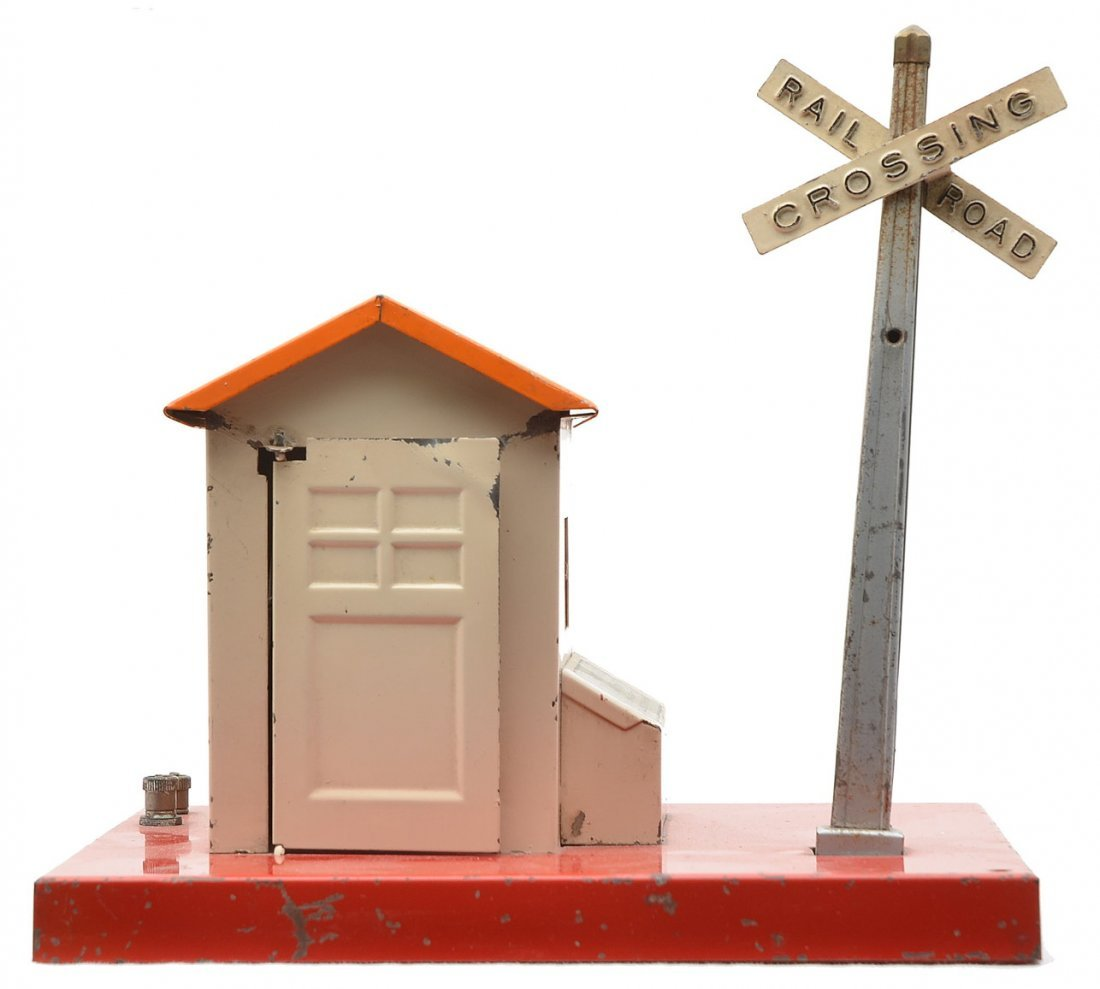 Lionel 76 Warning Bell and Shack