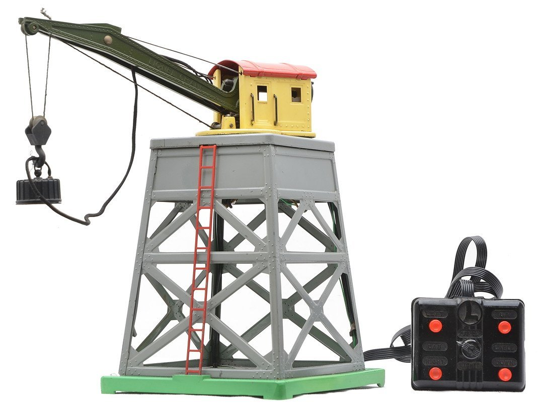 Lionel 165 Magnetic Crane w/Gray Tower