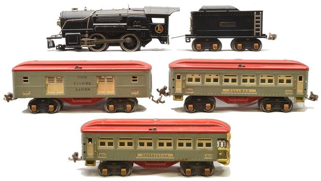 Lionel Gray/Red Passenger Set no. 234E