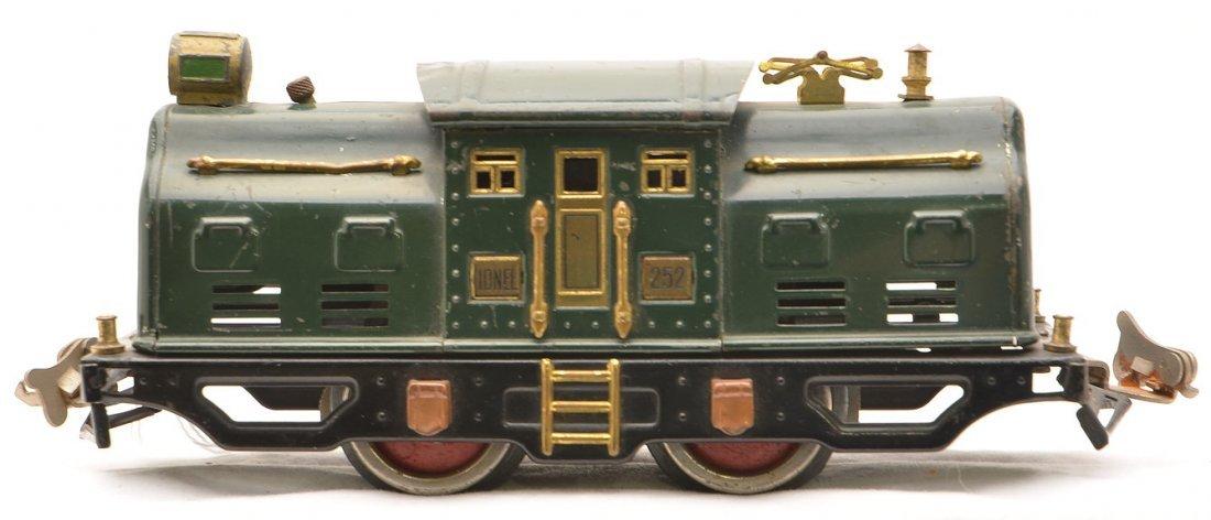 Lionel 252 Dark Green Electric Loco