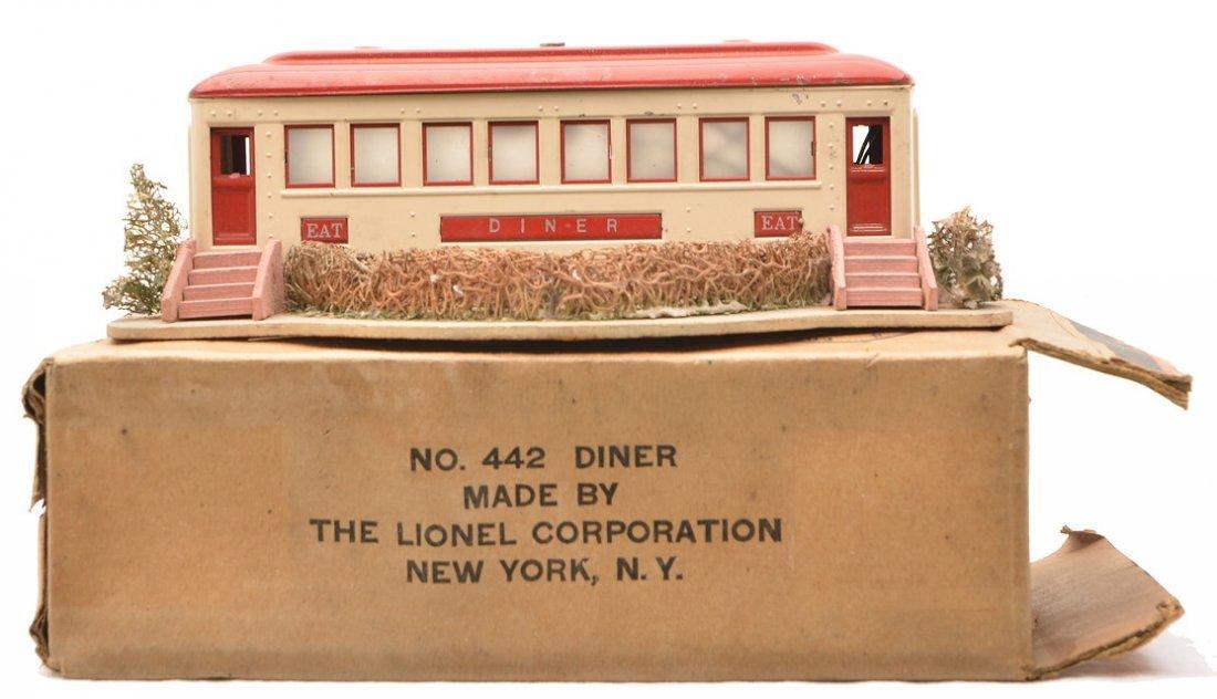 Lionel Prewar O Ga. 442 Landscaped Diner