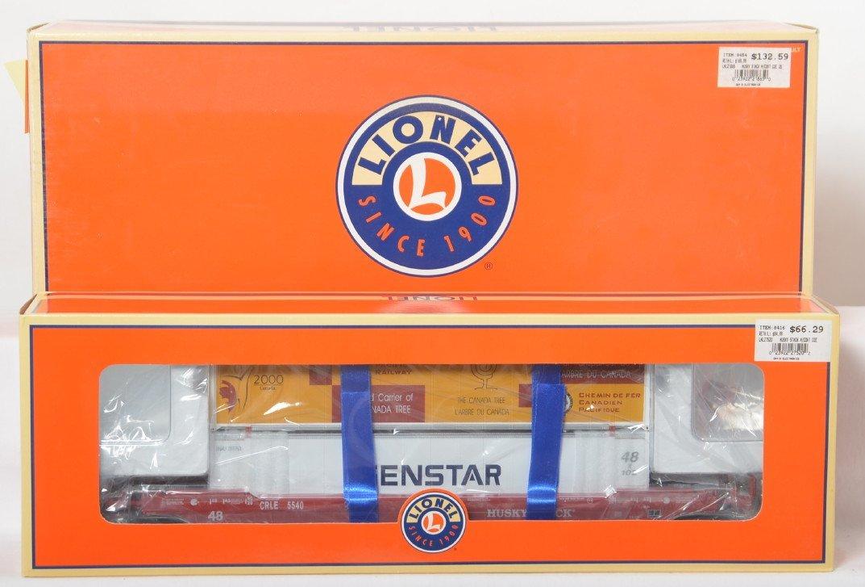 Lionel COE Rail Husky stack cars 21865 27520