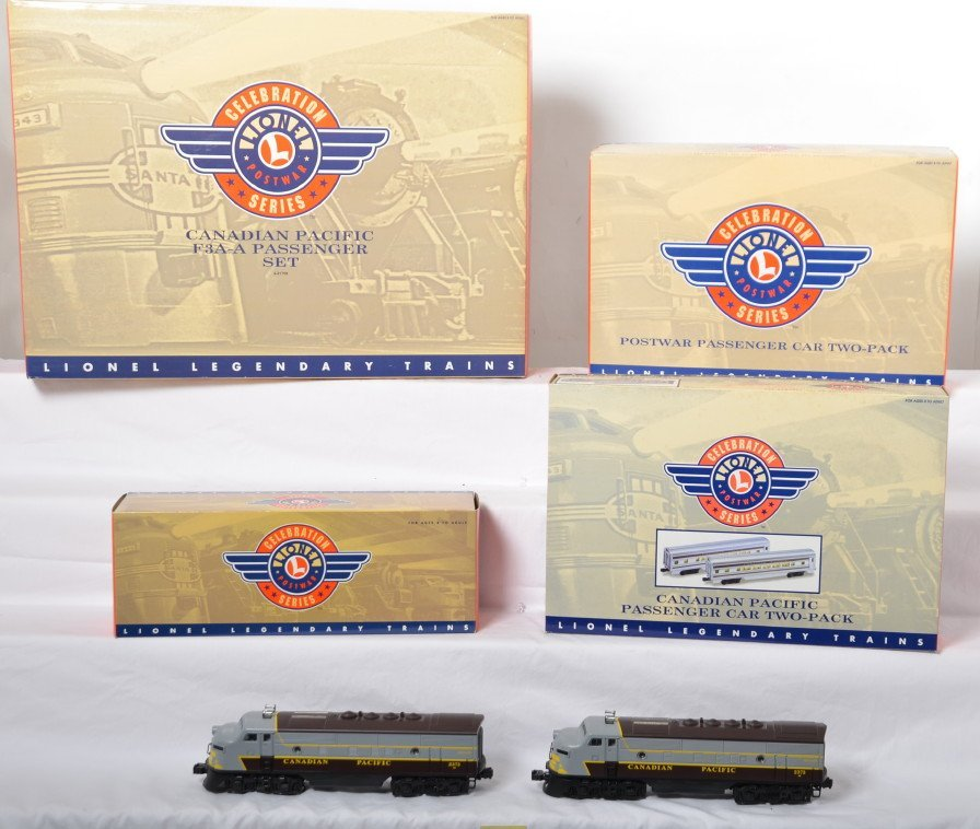 Lionel PWC Canadian Pacific passenger set and add ons