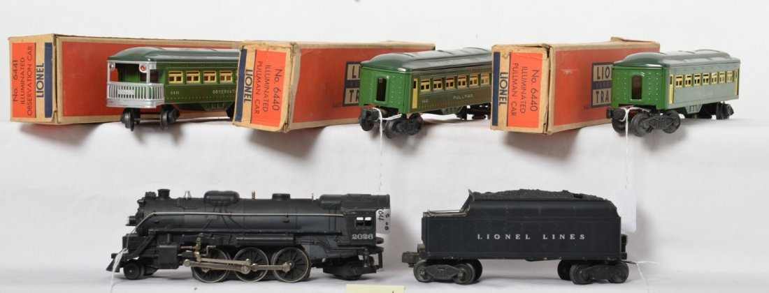 Lionel 2026/6466WX with two 6440 and 6441