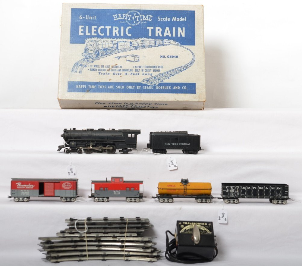 Marx No. 05948 6-Unit Scale Model electric train in OB