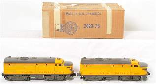 GRAY NOSE 2023 original Lionel UP Alcos OB