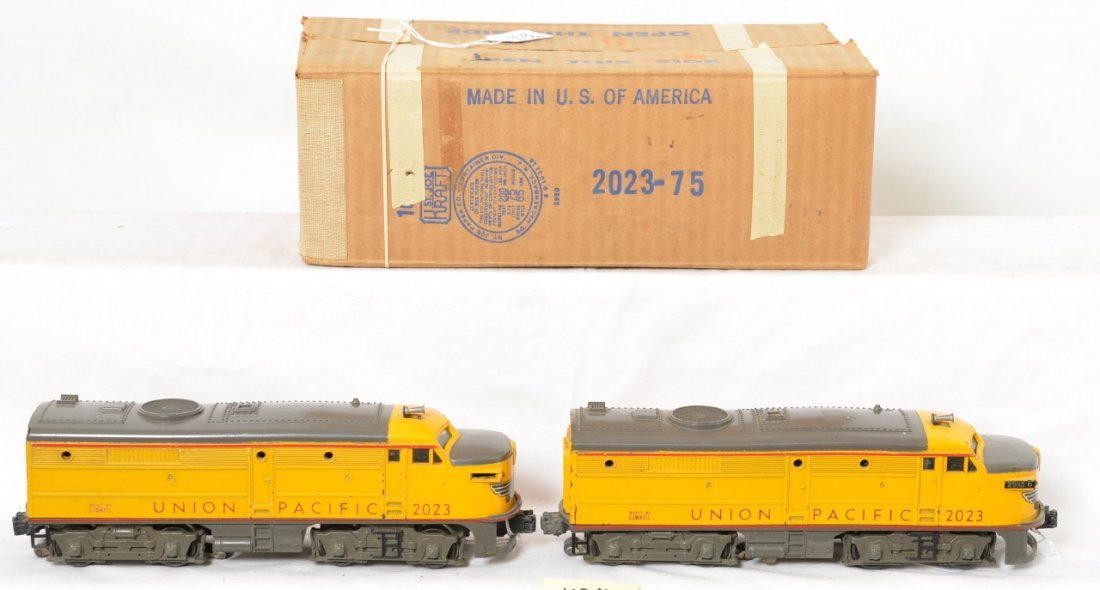 GRAY NOSE 2023 original Lionel UP Alcos, OB