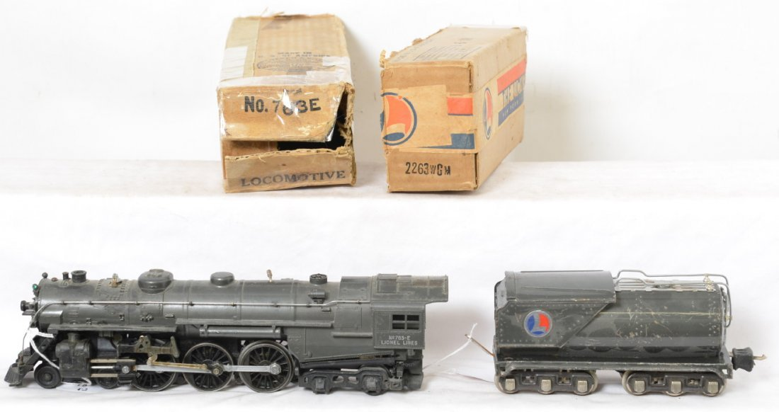 Lionel 763E/2263WG Hudson loco and tender in OB