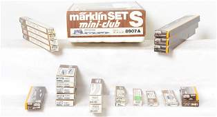 Marklin Z gauge track, switches, and more.