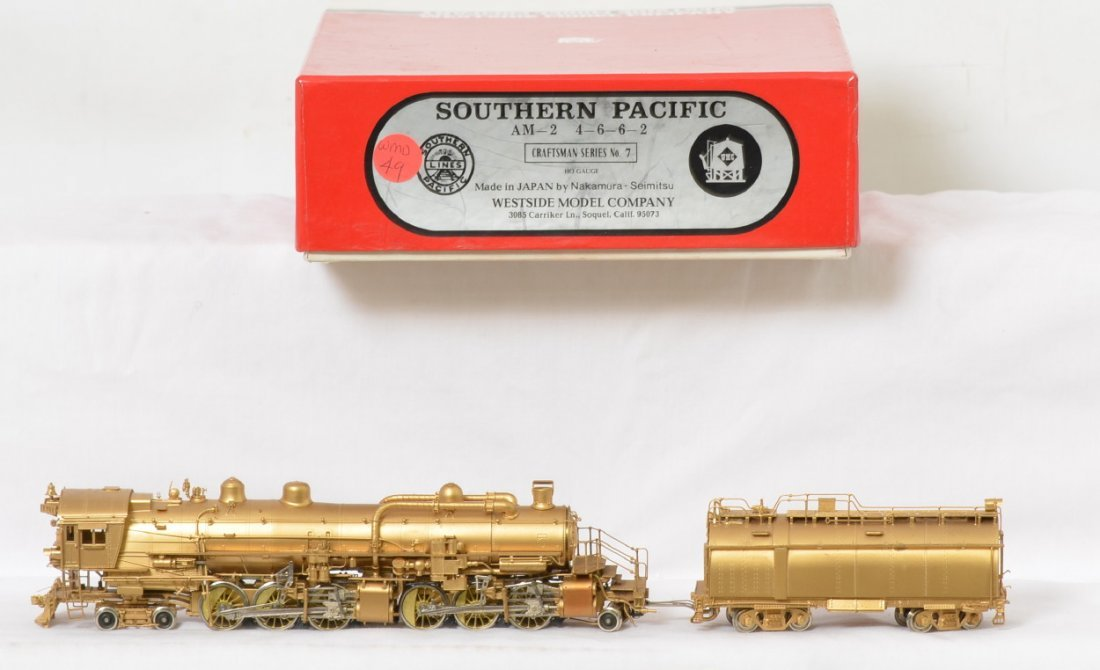West Side Models Southern Pacific AM-2 4-6-6-2