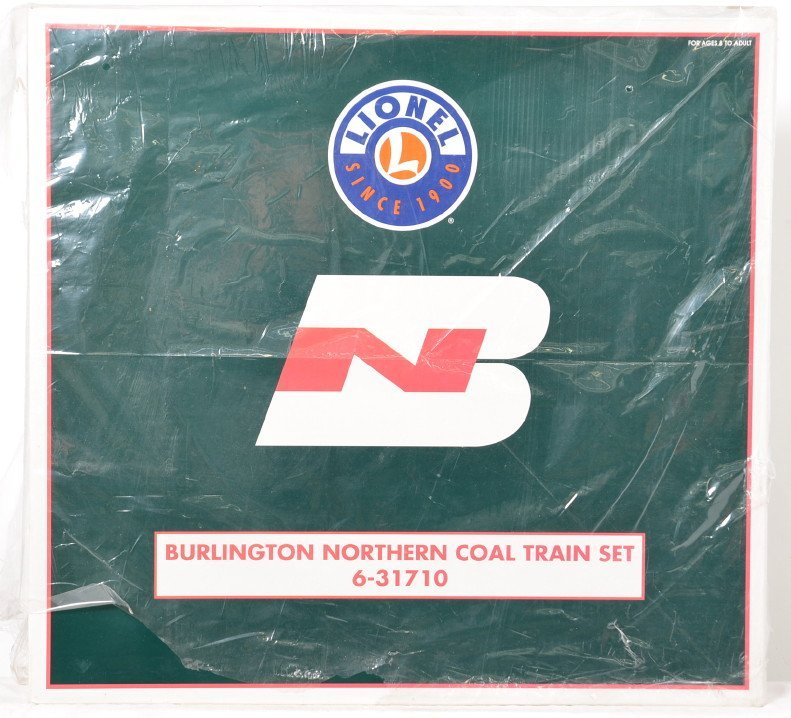 Lionel 31710 Burlington Northern coal train sealed