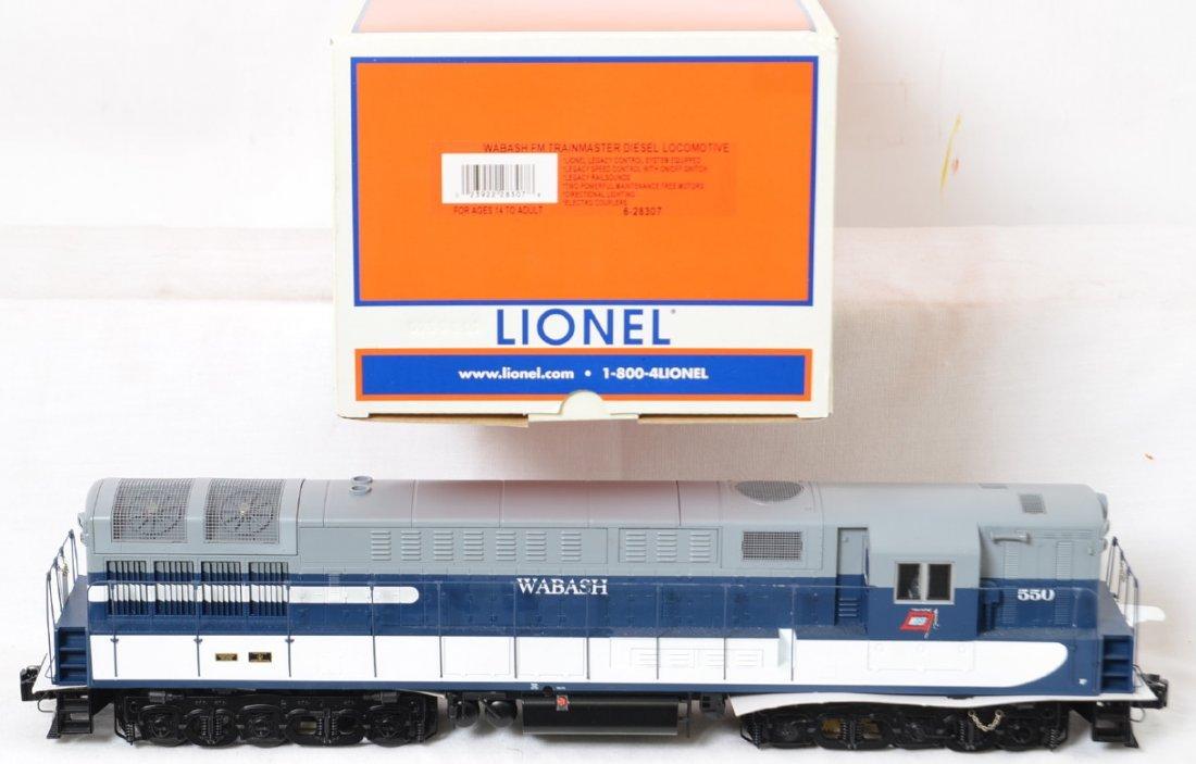 Lionel Wabash FM Trainmaster with Legacy 28307 - 2