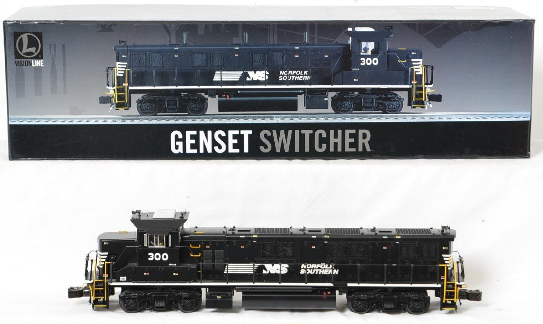 Lionel Vision Line Norfolk Southern Genset switcher