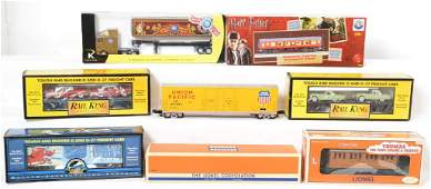 8 Lionel MTH and K Line cars Harry Potter Thomas etc