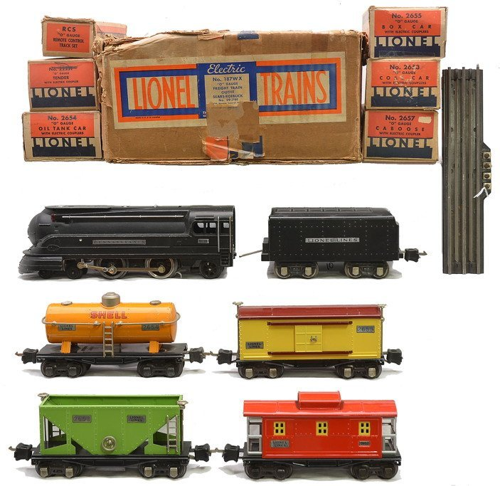 Lionel Freight Set no. 187WX Sears 59-79F